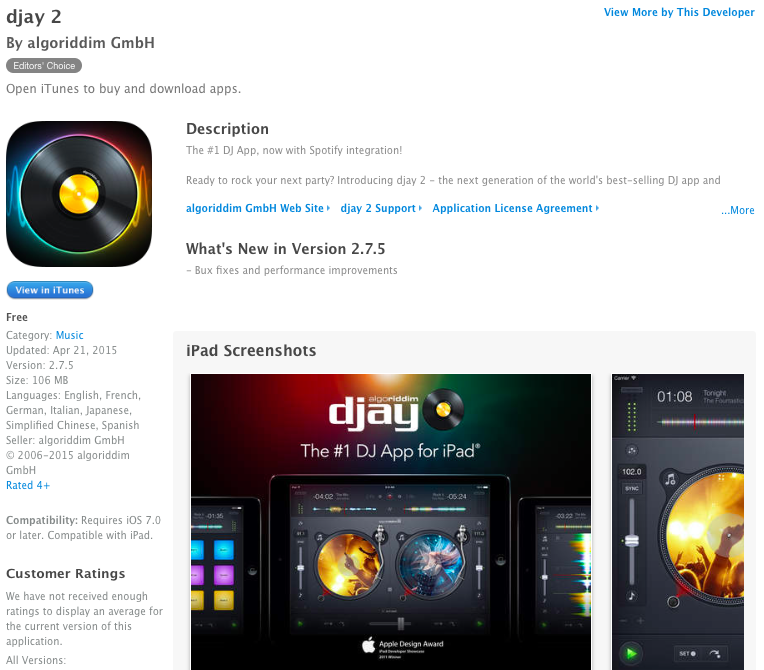 djay 2 for iPhone & iPad go free for the very first time - 9to5Toys