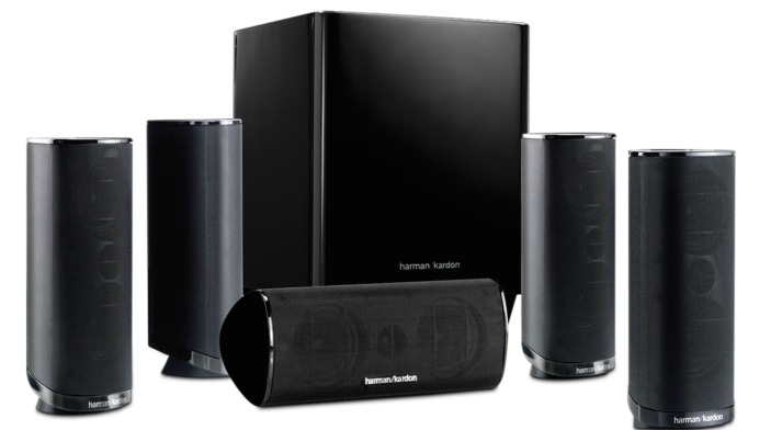 Harman Kardon HKTS 16 5.1-Channel Home Theater Speaker System in black or white-HKTS 16BQ-sale-01