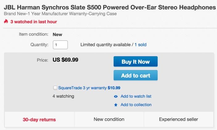JBL Synchros S500 Powered Over-Ear Stereo Headphones-sale-02