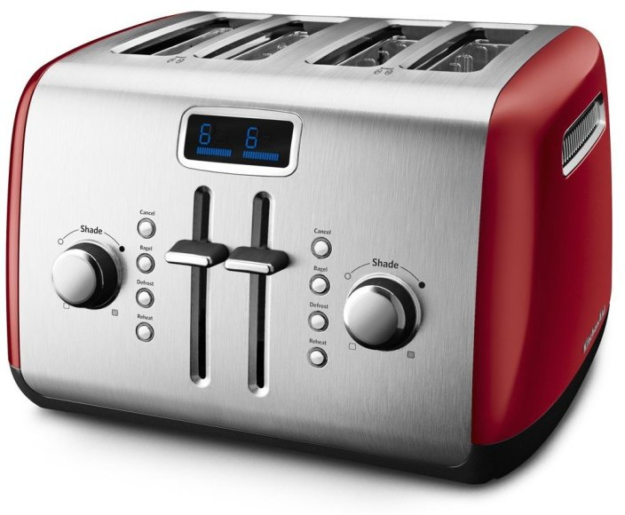 KitchenAid 4-Slice Toaster with Manual High-Lift Lever and Digital Display-sale-01
