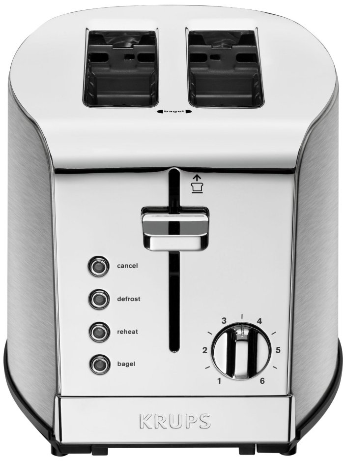 KRUPS Stainless Steel 2-Slice Toaster (KH732D)-sale-01