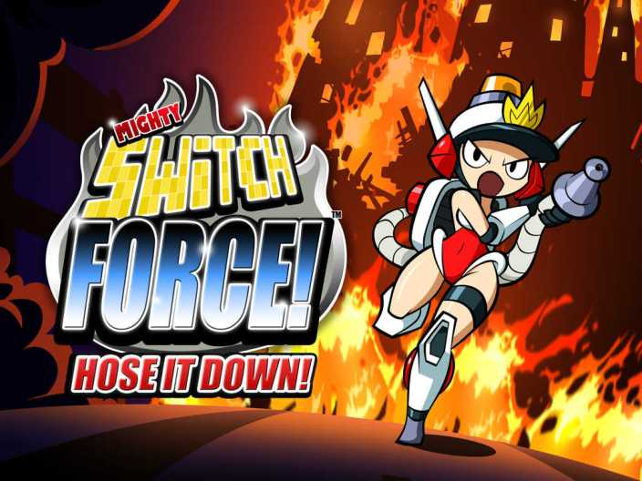 Mighty Switch Force! Hose It Down!-sale-04