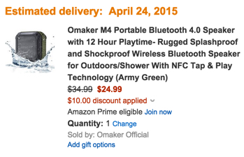 Omaker M4 Portable Bluetooth 4.0 Speaker with 12 Hour Playtime- Rugged Splashproof and Shockproof Wireless Bluetooth Speaker for Outdoors:Shower With