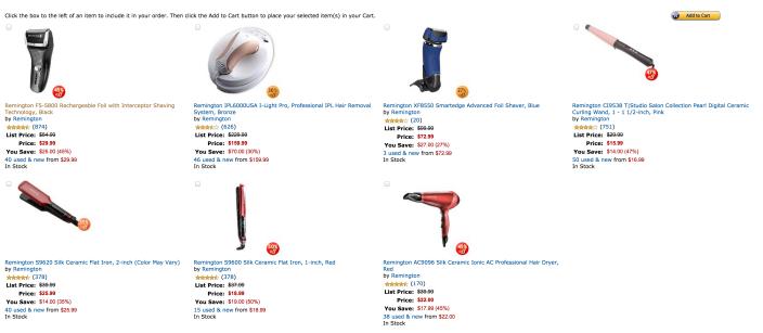 Remington Rechargeable Foil electric shaver (F5-5800)-sale-03