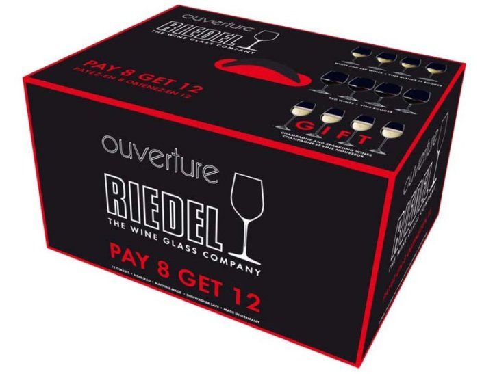 Riedel Ouverture Red and White Magnum Glass and Champagne Flute-sale-01