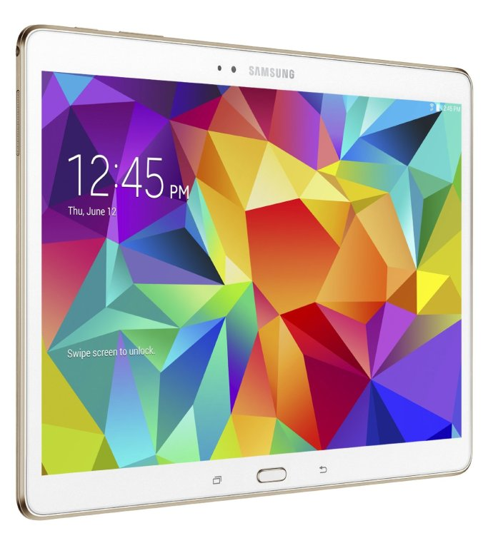 Samsung Geek Squad Certified Refurbished Galaxy Tab S 10.5 16GB Dazzling White