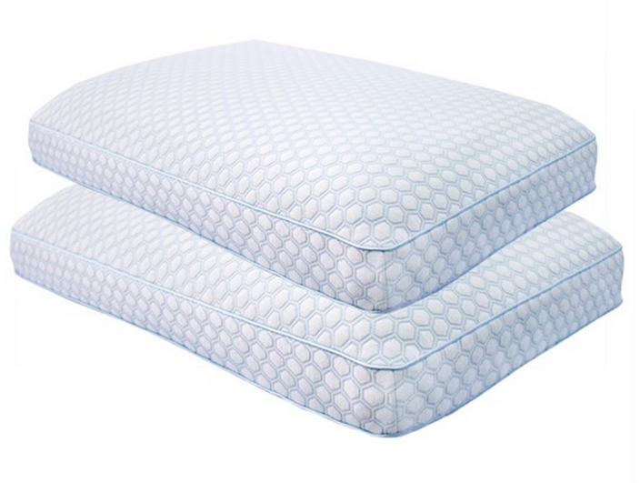 Sensorpedic Regal Gusseted Memory Foam Bed Pillow - 2 Pack-sale-01