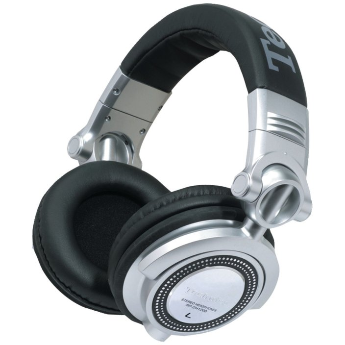 Technics DJ Headphones in silver:black (RP-DH1250-S-sale-01