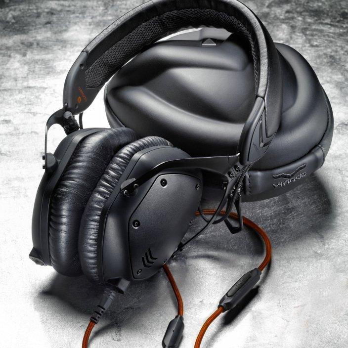 V-MODA Crossfade M-100 Over-Ear Noise-Isolating Headphones in matte black metal-sale-01