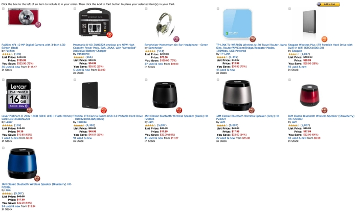 Amazon travel accessories