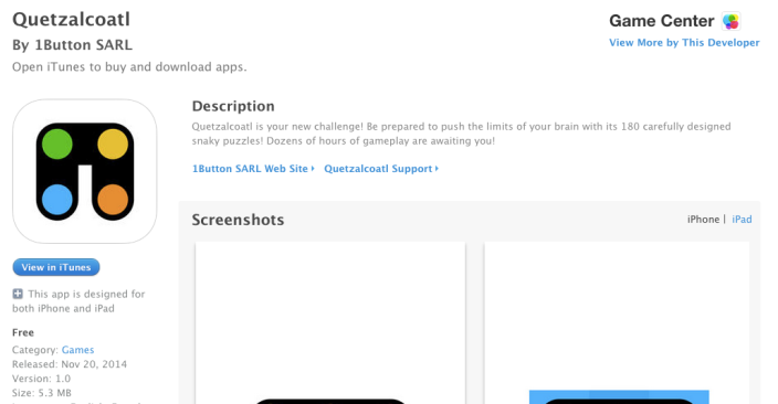 app-store-free-app-Quetzalcoatl