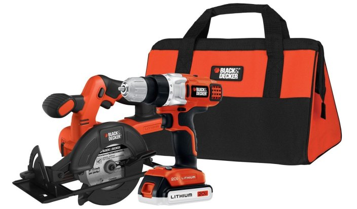 Black & Decker 20-Volt MAX Lithium-Ion Drill:Driver and Circular Saw Kit-sale-01