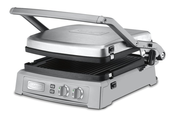 Cuisinart Griddler Deluxe in Brushed Stainless (GR-150)-sale-01