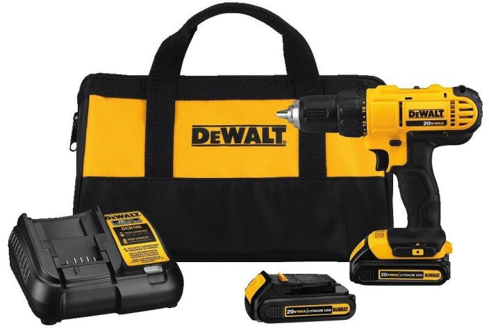 DEWALT 20V MAX Li-Ion 1:2%22 Compact Drill Driver Kit DCD771C2R-sale-01