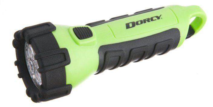 Dorcy Floating Waterproof LED Flashlight with Carabineer Clip (41-2513)-sale-01