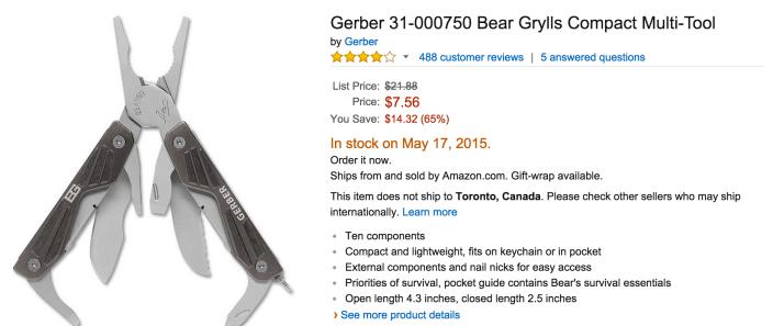 Gerber Bear Grylls Compact Multi-Tool (31-000750)-sale-02