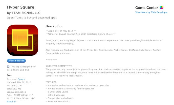 Hyper Square-iOS-Free App of the Week-06