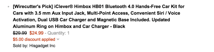 iClever Himbox HB01 Bluetooth 4.0 Hands-Free Car Kit for Cars with Dual USB Car Charger-sale-04
