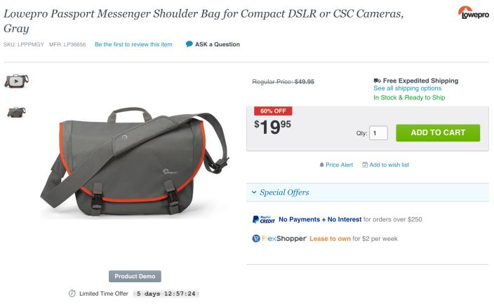 Lowepro Passport Messenger Shoulder Bag for Compact DSLR or CSC Cameras-sale-02