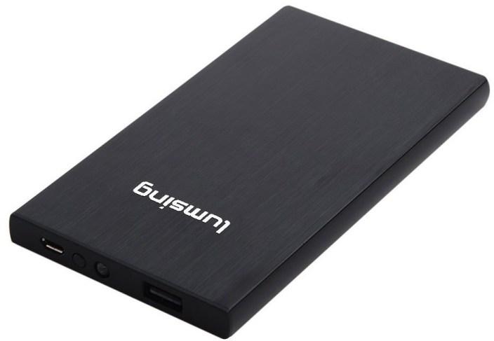Lumsing® 8000mAh Ultrathin Portable Power Bank External Battery Pack Backup Charger
