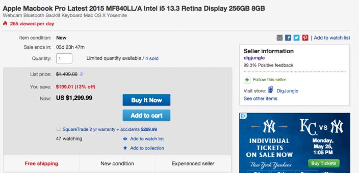 macbook-pro-retina-MF840LL:A-ebay