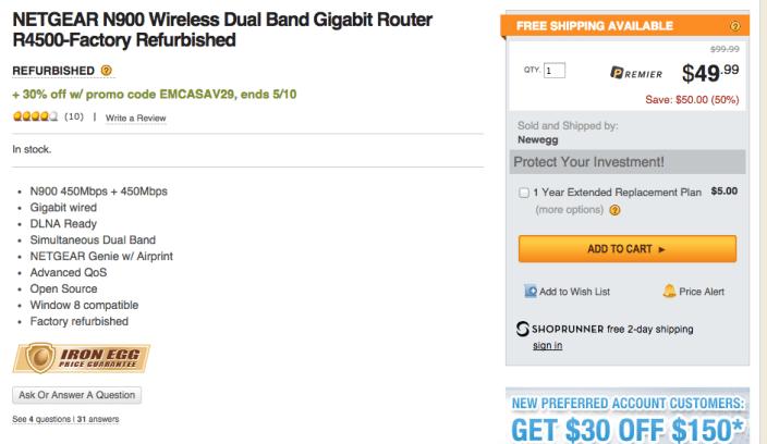 netgear-n900-r4500-router-newegg-coupon