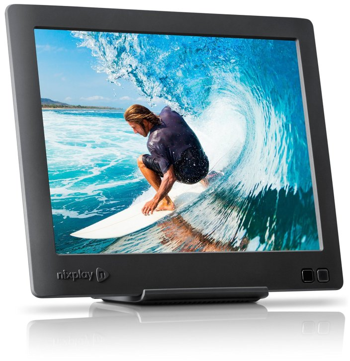 Nixplay Edge 8-Inch Wi-Fi Cloud Digital Photo Frame with Hi-Res Display-sale-01