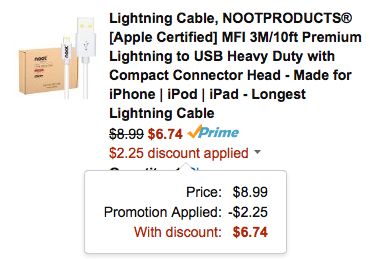 noot-lightning-cable-amazon-coupon