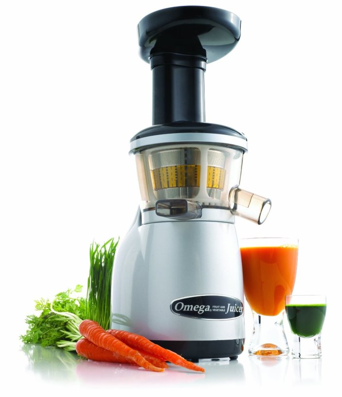 Omega Heavy Duty Dual-Stage Vertical Single Auger Low Speed Juicer (VRT350)-sale-01