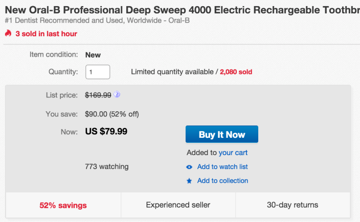 Oral-B Professional Deep Sweep 4000 Electric Rechargeable Toothbrush-2-pack-sale-01