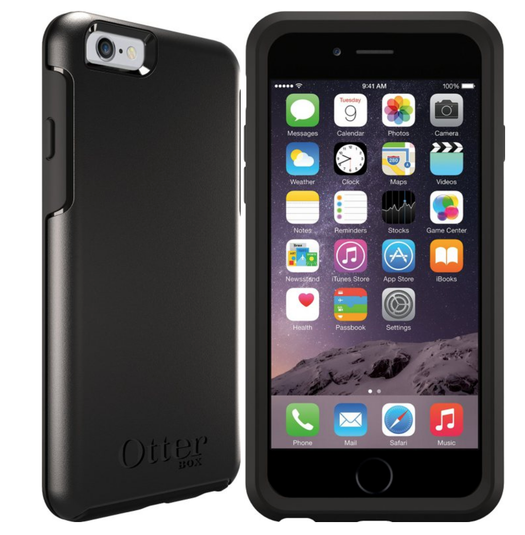 best buy iphone 5 otterbox iphone 6 plus symmetry series in black from 4279