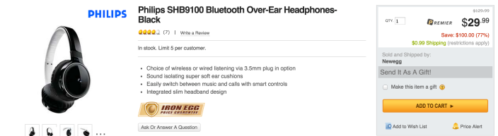 Philips SHB9100 Bluetooth Over-Ear Headphones-sale-02