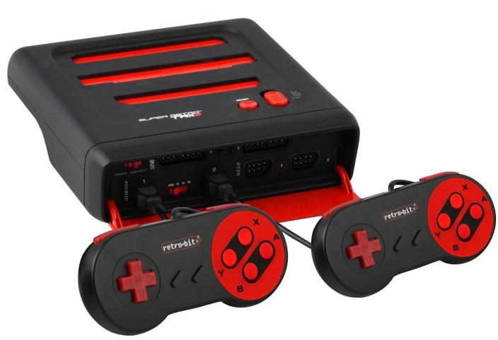 Retro-Bit Super RetroTRIO Console NES:SNES:Genesis 3-In-1 System