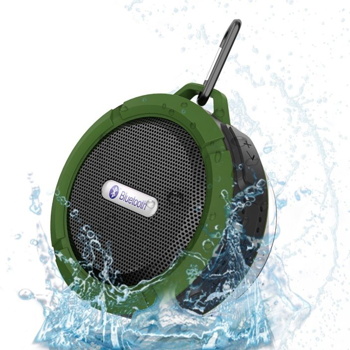 VicTsing Wireless Bluetooth 3.0 Waterproof Outdoor:Shower Speaker