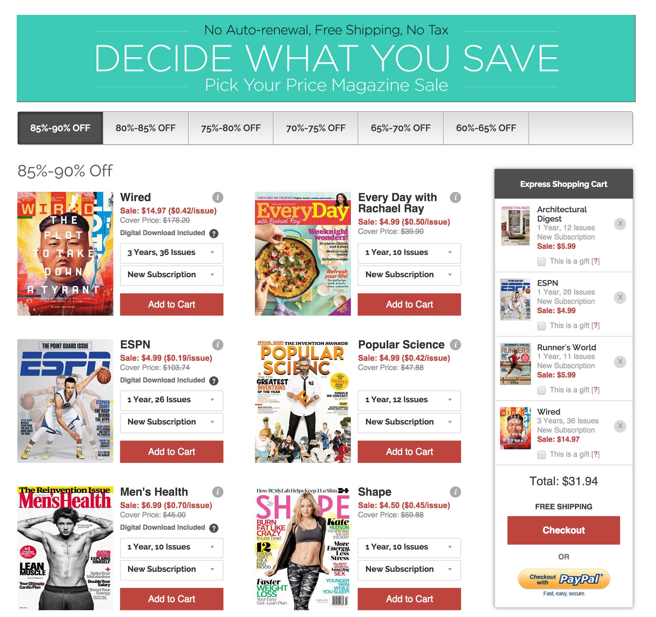 Magazine sale | 9to5Toys