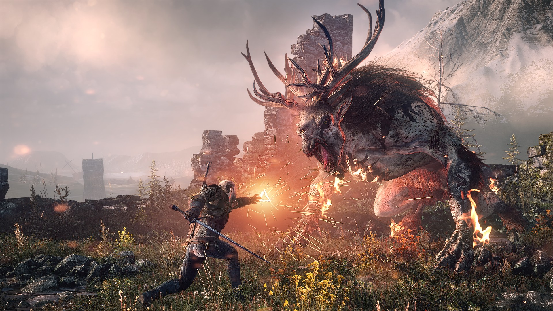 The Witcher 3 on PS5 and Xbox Series X