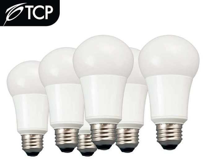 6-Pack TCP LA1027KND6 LED A19 60 Watt Equivalent Soft White (2700K) Light Bulb-sale-01
