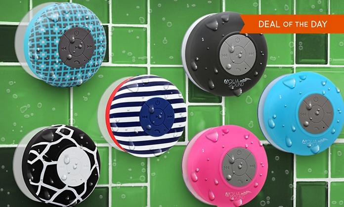 Aduro shower BT speakers