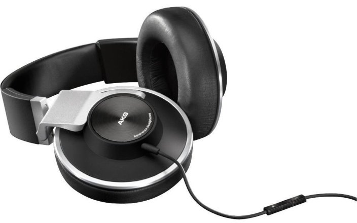 AKG K551SLV Closed-Back Reference-Class Headset with In-Line Microphone-sale-01