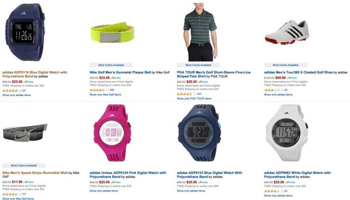 Amazon gold box golf accessories