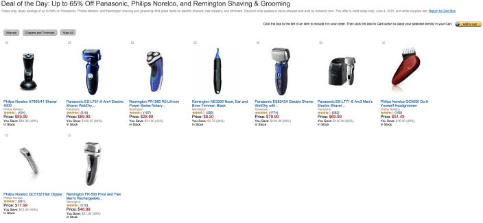 Amazon Gold Box-shavers-sale-01