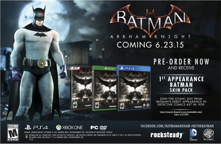 Amazon pre-order bonus-Batman Arkham-Knight