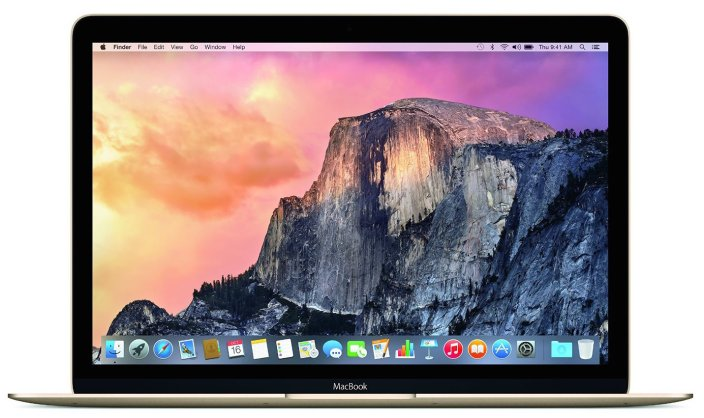Apple - MacBook® - 12%22 Display - Intel Core M - 8GB Memory - 256GB Flash Storage - Gold