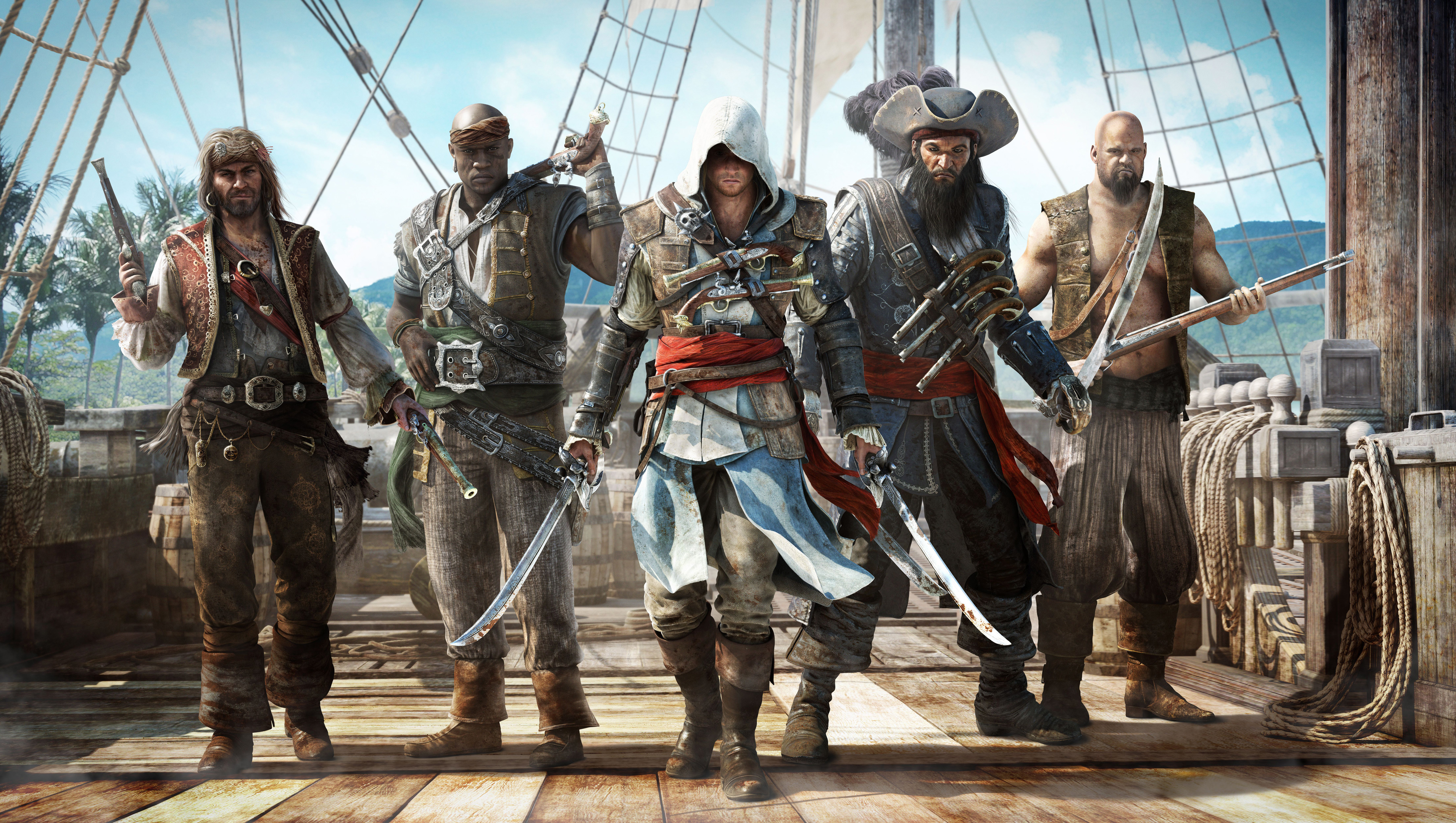 Free Xbox Gold Games For July Assassin S Creed Iv Black Flag