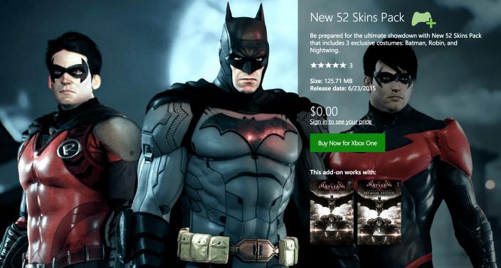 Batman Arkham Knight-free skins-sale-02
