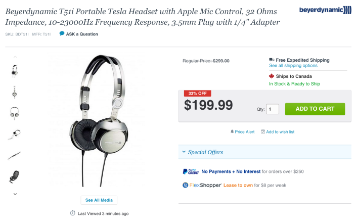Beyerdynamic T51i Portable Headphones-sale-03