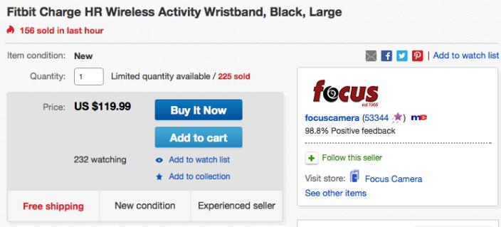 ebay-fitbit-hr-deal