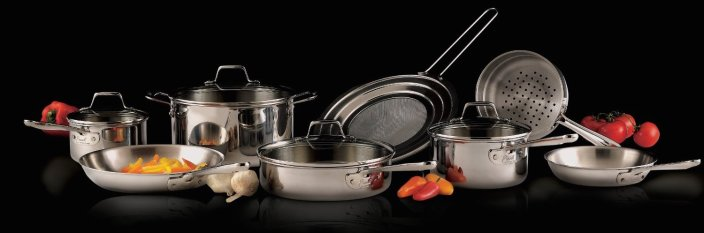 Emeril by All-Clad 2100058159 PRO-CLAD Tri-Ply Stainless Steel 12-Pc Cookware-sale-01