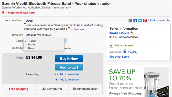 garmin-vivofit-ebay-deal