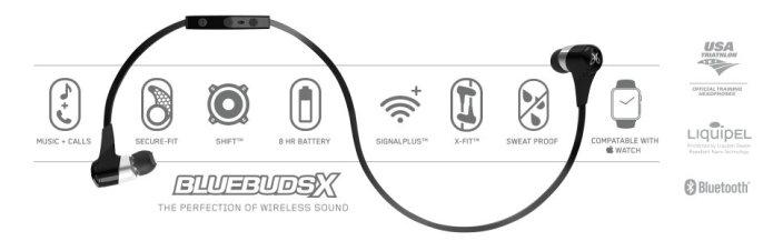 JayBird BlueBuds-X-Sport-features